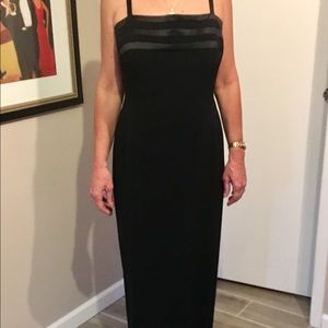 Jones New York black formal gown